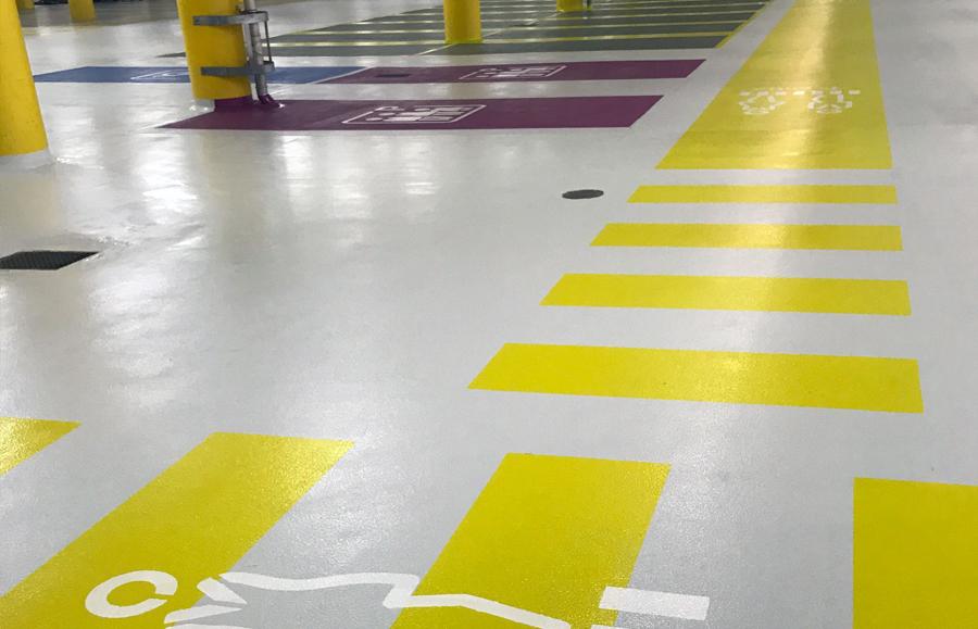 Opbygning af parkeringsdæk