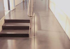 Ålands sjöfartsmuseum superfloor betonggolv Linotol